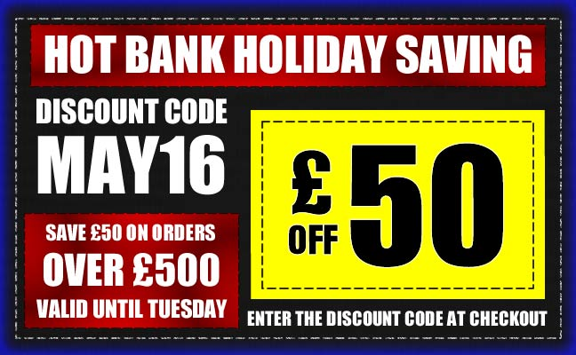 Save £50 on all orders over £500