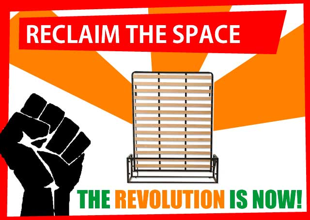 Reclaim the space, from £249, the revolution is now!