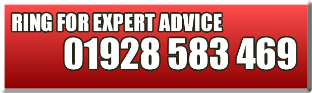 Ring for expert advice 01928 583 469
