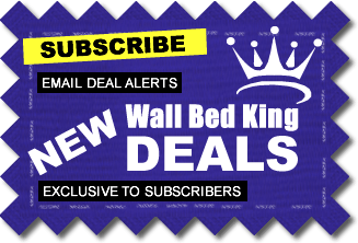 Click to subscribe, Email Deal Alerts, New Wall Bed King Deals, Exclusive To Subscribers
