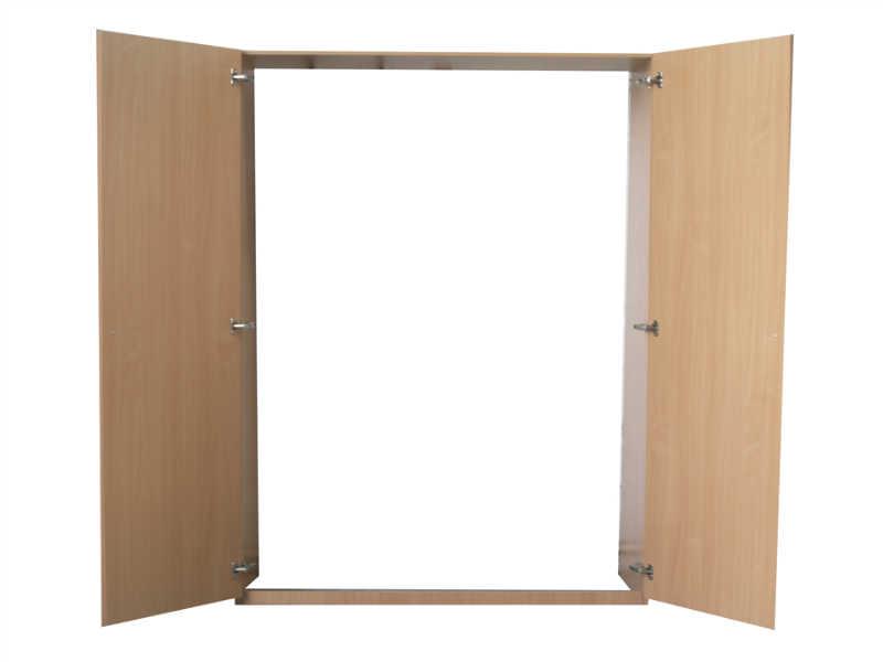 Wandbetten schr nke die unglaublich platzsparende alternative for Kleines doppelbett