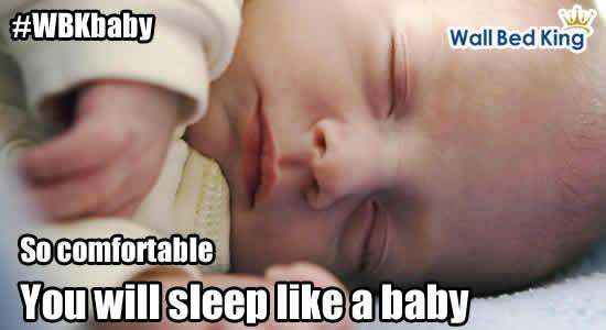 So comfortable you will sleep like a baby