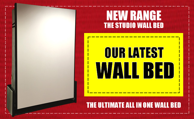 New range, our latest wall bed, the ultimate all in one wall bed