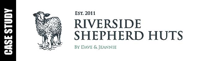 Riverside Shepherd Huts Logo